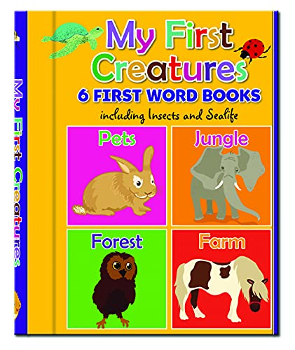 9781783730469: Early Learning: My First Creatures - 6 First Word Books (Early Learning Board Book Sets)