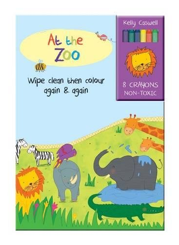 Colour Me Again and Again Book - At the Zoo