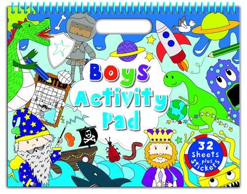 9781783732579: Boy's Ultimate: Colouring & Activity (Landscape Doodle Pad)