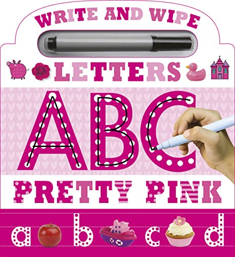 Write and Wipe Pink ABC