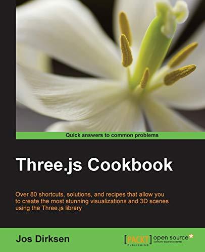 9781783981182: Three.js Cookbook