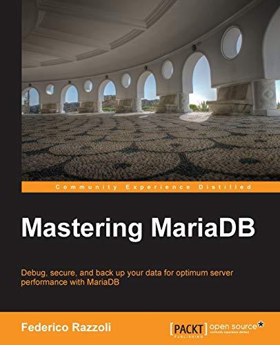 9781783981540: Mastering MariaDB