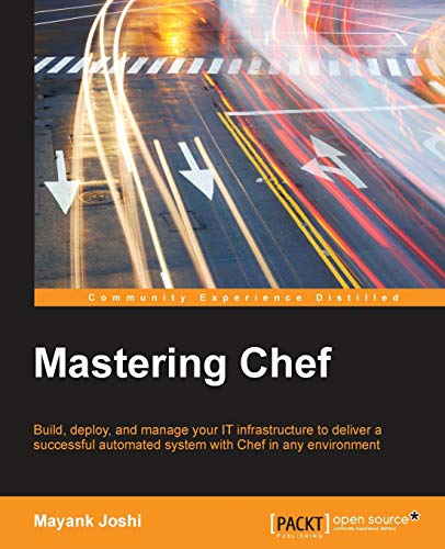 Mastering Chef (Paperback): Mayank Joshi