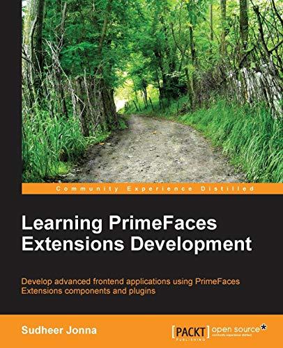 9781783983247: Learning Primefaces' Extensions Development