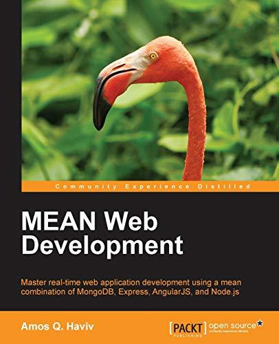 MEAN Web Development: Haviv, Amos Q.