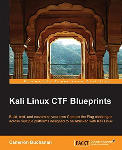 9781783985982: Kali Linux CTF Blueprints