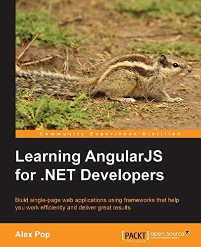 9781783986606: Learning AngularJS for .NET Developers