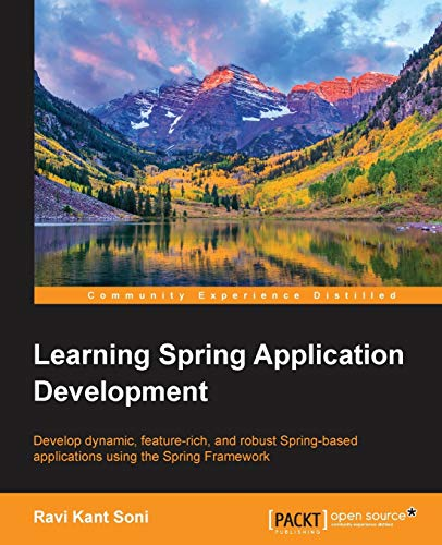 9781783987368: Learning Spring Application Development