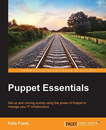 9781783987481: Puppet Essentials