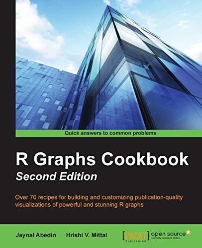 R Graph Cookbook Second Edition: Abedin, Jaynal; Mittal, Hrishi V.
