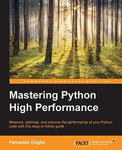 9781783989300: Mastering Python High Performance