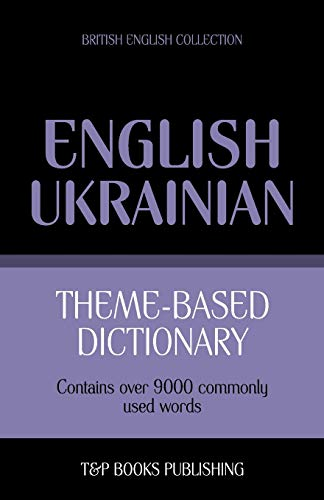 9781784000226: Theme-based dictionary British English-Ukrainian - 9000 words