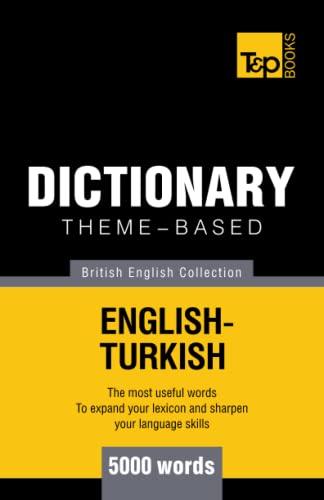 9781784001827: Theme-based dictionary British English-Turkish - 5000 words