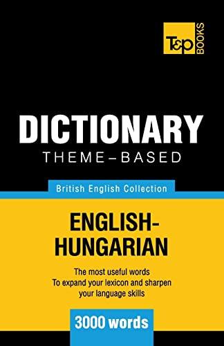 9781784001964: Theme-based dictionary British English-Hungarian - 3000 words