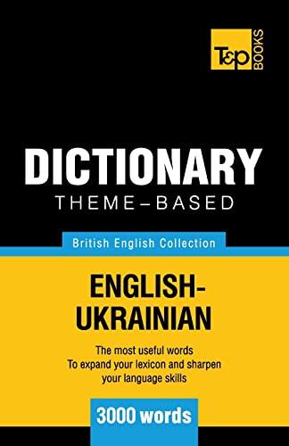 9781784002152: Theme-based dictionary British English-Ukrainian - 3000 words