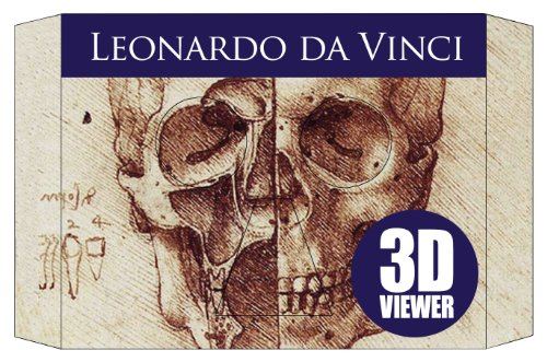 3-D Viewer Leonardo Da Vinci: 14 Classic Images in 3-D (Hardcover): Claire Bampton