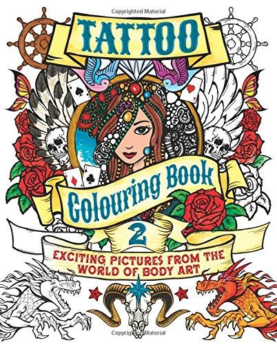 9781784041830: Tattoo Colouring Book 2