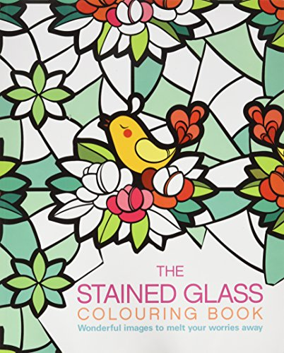 Stained Glass Colouring Book 2: Arcturus Publishing