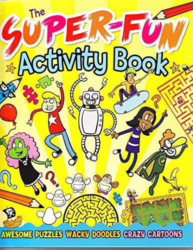 The Super-Fun Activity Book: Tom Sparke
