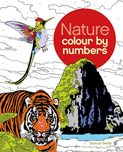 Colour by Number: Nature: Arcturus Publishing