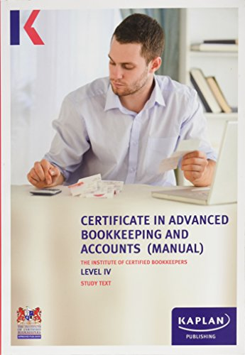 Icb Study Text Level IV Advanced Bookkee