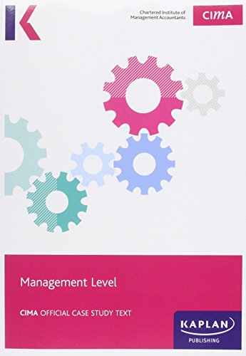 9781784152024: CIMA Management Case Study (M15/N15) - Study Text