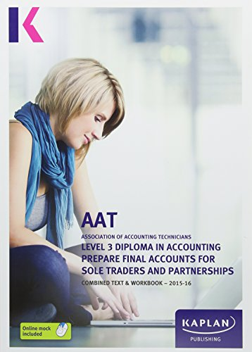 Prepare Final Accounts for Sole Traders and Partnerships - Combined Text
