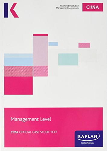 CIMA Management Case Study - Study Text