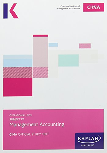 9781784155193: CIMA P1 Management Accounting - Study Text