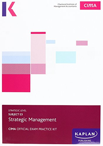 9781784155414: CIMA E3 Strategic Management - Exam Practice Kit