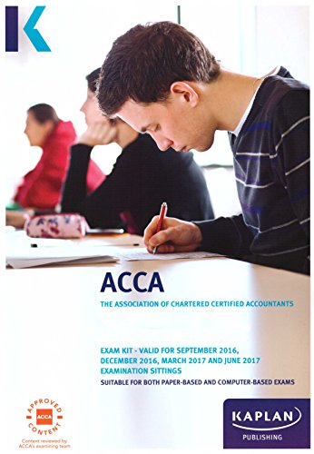 9781784157029: ACCA P4 Advanced Financial Management - Exam Kit (Acca Exam Kits)