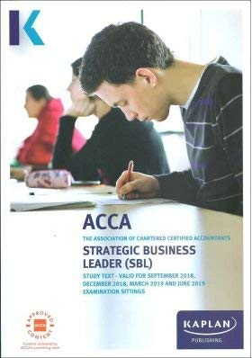 9781784158224: Strategic Business Leader (Acca Study Texts)