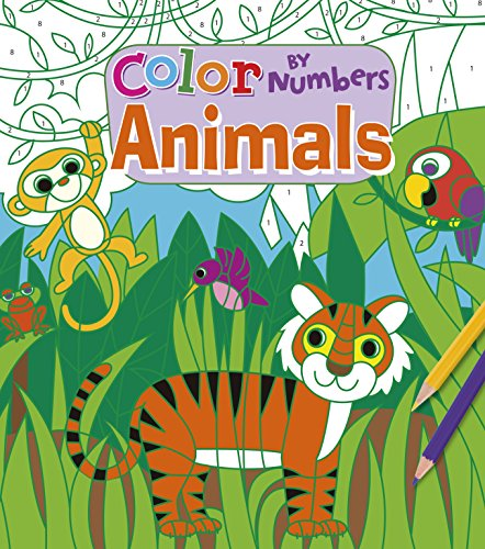 Color By Numbers Animals: Arcturus Publishing