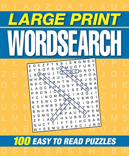 9781784285586: Large Print Wordsearch