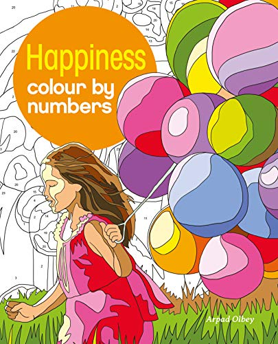 9781784286507: Happiness Colour by Numbers (Arcturus Colour by Numbers Collection)
