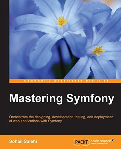 9781784390310: Mastering Symfony