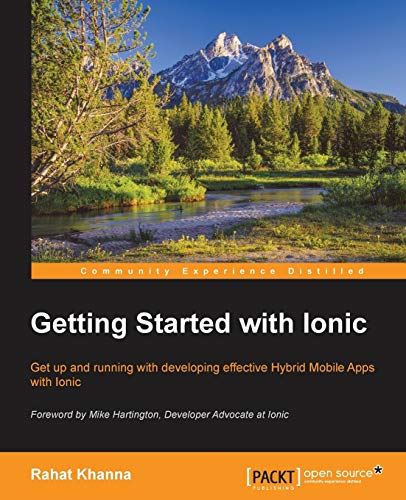9781784390570: Getting Started with Ionic
