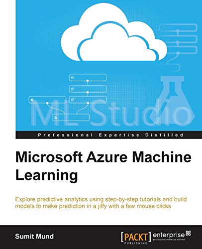 9781784390792: Microsoft Azure Machine Learning