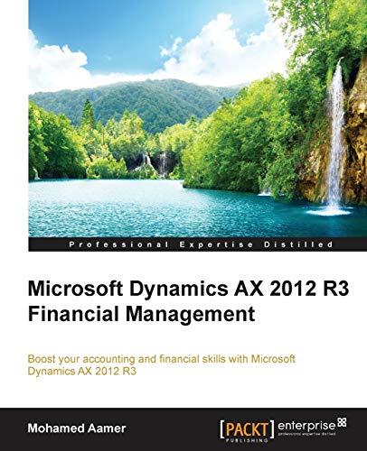9781784390983: Microsoft Dynamics AX 2012 R3 Financial Management