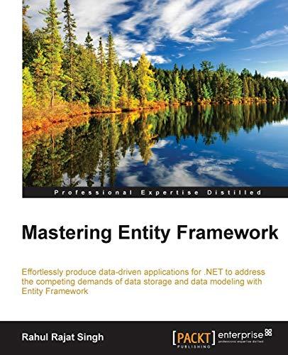 9781784391003: Mastering Entity Framework