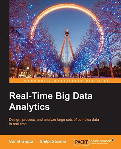 9781784391409: Real-Time Big Data Analytics