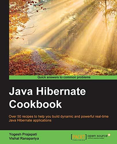 9781784391904: Java Hibernate Cookbook