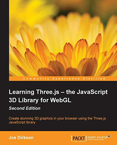9781784392215: Learning Three.js: The JavaScript 3D Library for WebGL - Second Edition