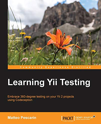 9781784392277: Learning Yii Testing