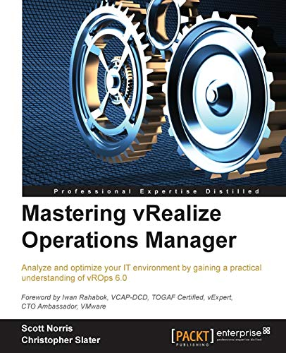 9781784392543: Mastering vRealize Operations Manager