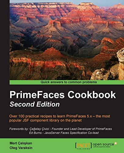 9781784393427: PrimeFaces Cookbook - Second Edition
