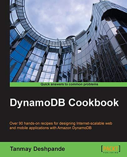 9781784393755: DynamoDB Cookbook