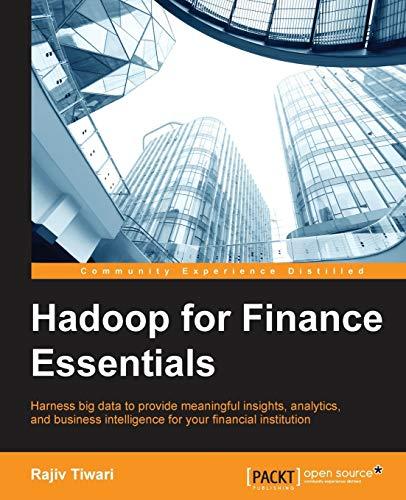 9781784395162: Hadoop for Finance Essentials