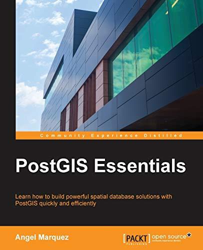 9781784395292: PostGIS Essentials