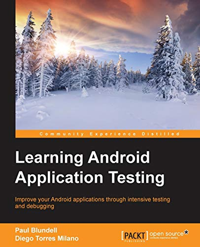 9781784395339: Learning Android Application Testing